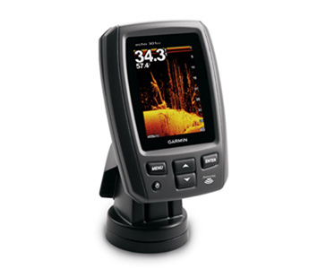 Garmin echo 301dv Fishfinder with DownVu Transducer