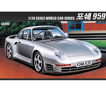 1/24 Academy World Car Series Porche 959 CA093