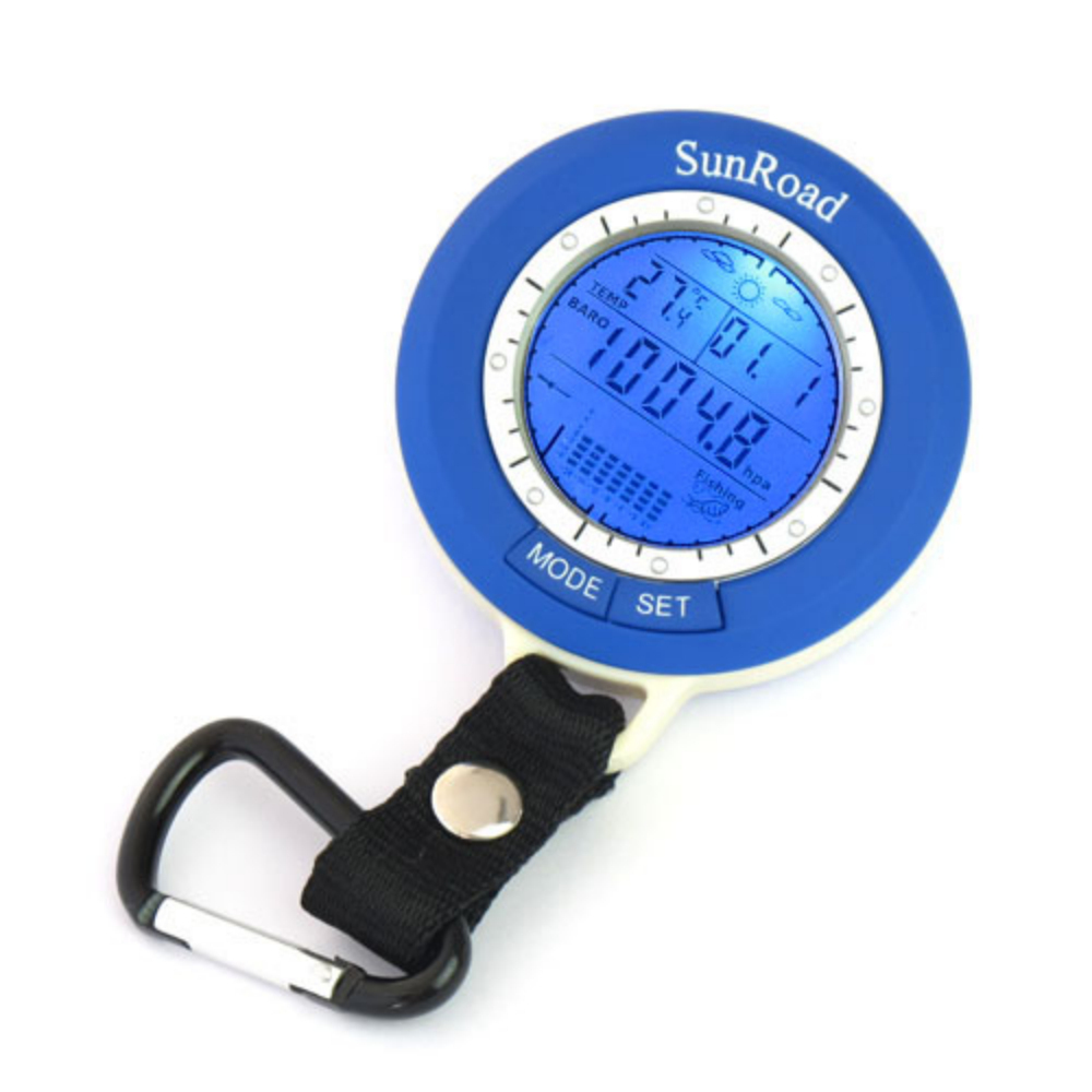 Pocket Digital Fishing Barometer with Altimeter(Blue)