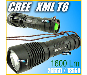 1600 Lumens LED Flashlight