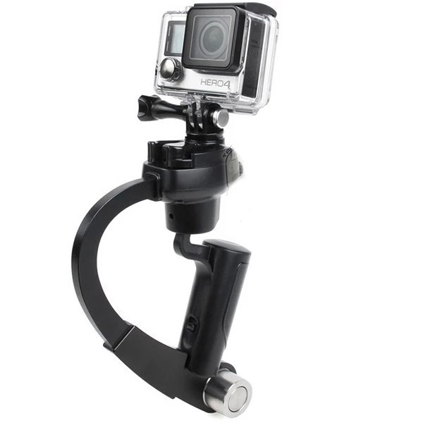 Mini Steadicam for New Gopro Hero 4 Black HD Camera Video Handheld Stabilizer