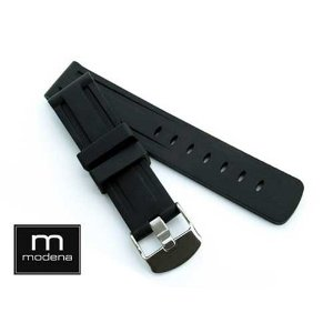 18mm MODENA Panerai style Italian Rubber watch band