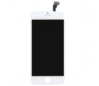 OEM LCD Screen and Digitizer Assembly with Frame for iPhone 6 - White