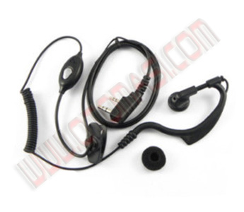 2 PIN Earpiece Headset for KENWOOD Radios GTX LTS2000 TC2685 Walkie Talkie 	 2 PIN Earpiece Headset for KENWOOD Radios GTX LTS20