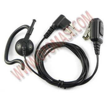 2 PIN Earpiece for Motorola 2-Way Radio KPG XTN CLS Spirit SP PRO Series