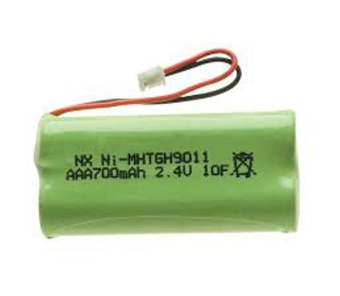 2.4V 700mAh AAA Cordless Phone Rechargeable Battery