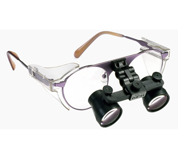 2.5xx SheerVision Titanium Ultra-Light Flip-Up Loupes