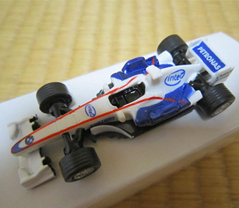 2007 F1 Miniture Car Series BMW Sauber F1 Team From JAPAN