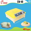 2014 new design Wholesale CE Marked Mini 48 Egg Incubator Factory
