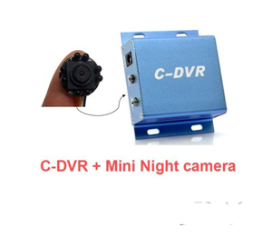 Mini Smallest Tiny Night Vision 5.0M CMOS Sharp Camera With Security DVR Micro SD Card Recording