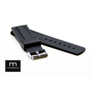 22mm MODENA Panerai style Italian Rubber watch band