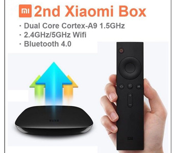 2nd Xiaomi HD Internet Android TV Set Top Box (Airplay/DLNA/Miracast) Dual Core
