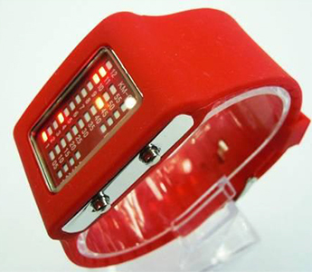 31 Lights LED Watch