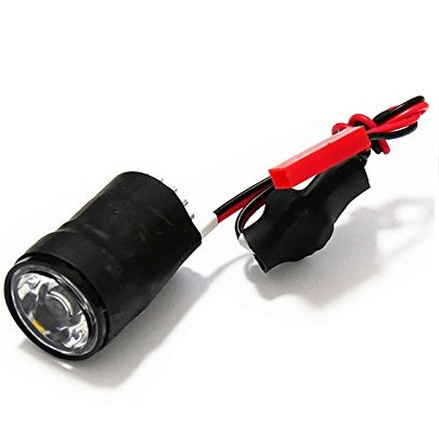 3W High Power Super Bright LED Lamp Illuminator 7-17V Night Navigation for FPV(Pure White Light)