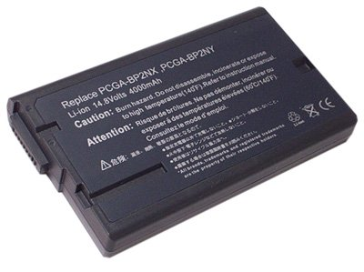 Replacement Battery for Sony PCGA-BP2NX, PCGA-BP2NY Laptop Battery