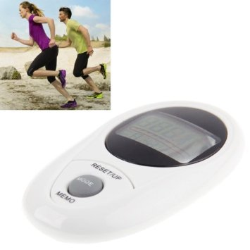 3D All Dimensional Waterproof Multifunction Digital Electronic Pedometer Step Counter