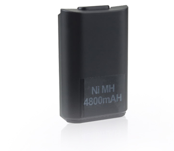 4800mAH Rechargeable Akku Pack Battery For Xbox360 XBOX 360 Controller New Black