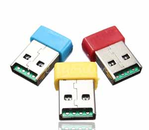 480 Mbps Mini Colorful USB 2.0 Micro SD TF T-Flash Memory Card Reader Adapter