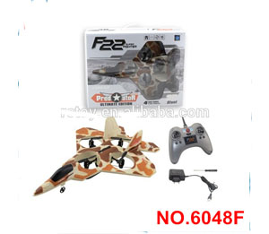 6048F  2.4G 4CH RC F22 Fighter with Tumbling