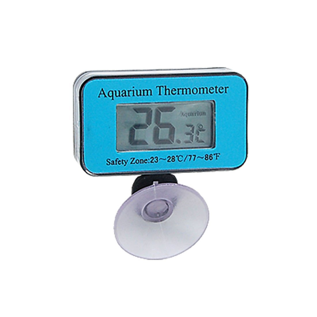 Digital Mini Waterproof LCD Display Aquarium Thermometer with Suction Cup