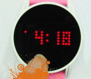 85 Light Touch Screen Watch Circle