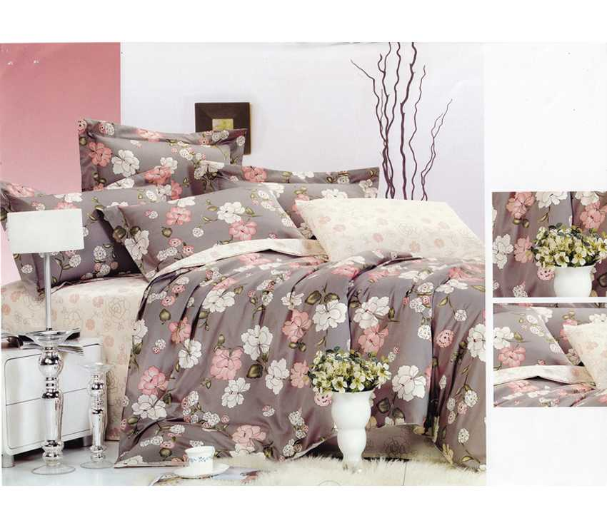 Sprei Cotton Viscose (CVC) Arumi - Queen Size (200x160cm)