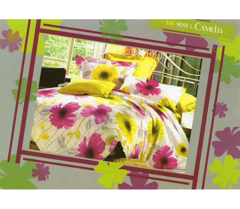 Sprei Cotton Viscose (CVC) Camelia - King Size (200x180cm)
