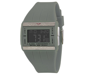 Activa By Invicta Midsize AD035-002 Gray Multi-function Digital Watch