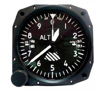 ALTIMETER Aviation 3IN. 20K