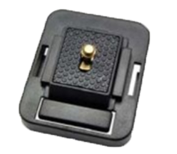 Arkon Adapter Plate - Camera Mount Plate | Snaps on to AMPS Pattern Plates