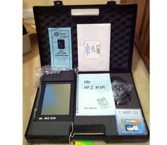 AVMAP EKP-II NT C-MAP GPSMAP AVIATION SYSTEM W/ ACCESSORIES & CASE (New)