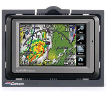 AirGizmos GPS Garmin Aera 500 Series Panel Dock