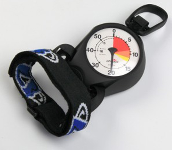 Altitrack Digital Analogue-Face Altimeter for Skydiving by Larsen & Brusgaard