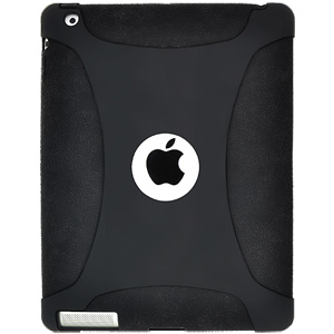Amzer Silicone Skin Jelly Case for Apple iPad 2 (Black)