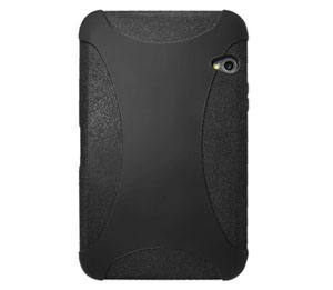 Amzer Silicone Skin Jelly Case for Dell Streak 7 (Black)