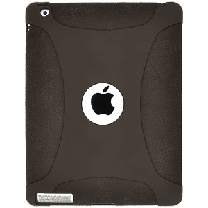 Amzer Silicone Skin Jelly Case for Apple iPad 2 (Grey)