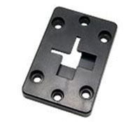 Arkon Adapter Plate - 2 Way Single T-Slot to 4 hole AMPS (AP012)