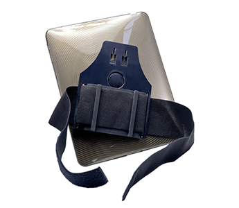 Arkon MyHandstand - Knee Mount Swivel Holders with Elastic Strap for iPad 2 and iPad 3 for Airplane Pilots
