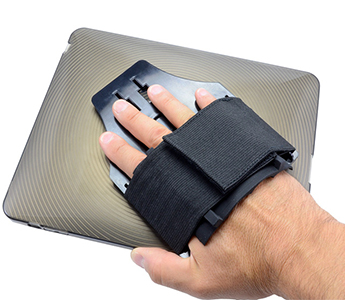 Arkon MyHandstand - Tablet Hand Holder with Elastic Hand Strap and TPU Skin for iPad Original