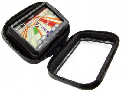 Arkon Water Resistant Case for GPS with Locking Screw Hole - For Motorcycles, Snowmobiles, etc.