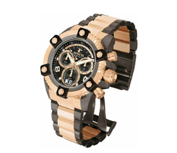 Arsenal QTZ Chrono BLK DL Rose Gun SS