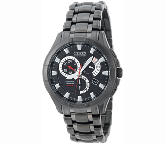Citizen Men's BL8097-52E Eco-Drive Calibre 8700 Black Ion-Plated Stainless Steel Watch