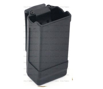 Blackhawk Double Row Carbon Fiber Magazine Case 9mm/.40 cal Black 410600PBK