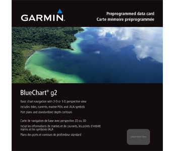 Garmin Bluechart G2 HXSA001R South America East Coast MicroSD/SD