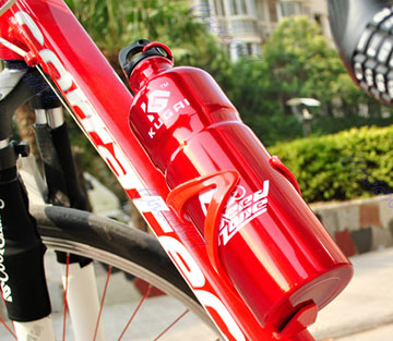 Bike Bicycle Cycling Mountain Sport Water Bottle Drinks Plastic Holder Cages