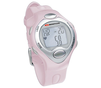 Bowflex Classic 10S Pink Strapless Heart Rate Monitor Watch w/ Calorie Counter