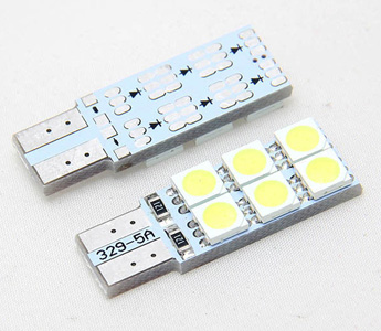 Car 4 SMD LED T10 168 W5W 5050 194 White Wedge Dashboard Light Lamp Bulb