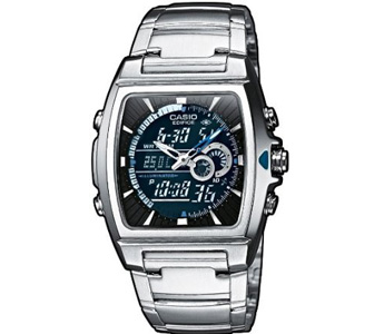 Casio Edifice Digital Watch for Him With Thermometer