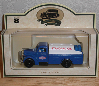 Chevron 1936 Farm Delivery TruckStandard Oil Chevron Die Cast Metal Collectible