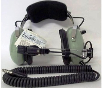 David Clark Headset-Microphone H10-76 Aviation Headset/Mic (Used)